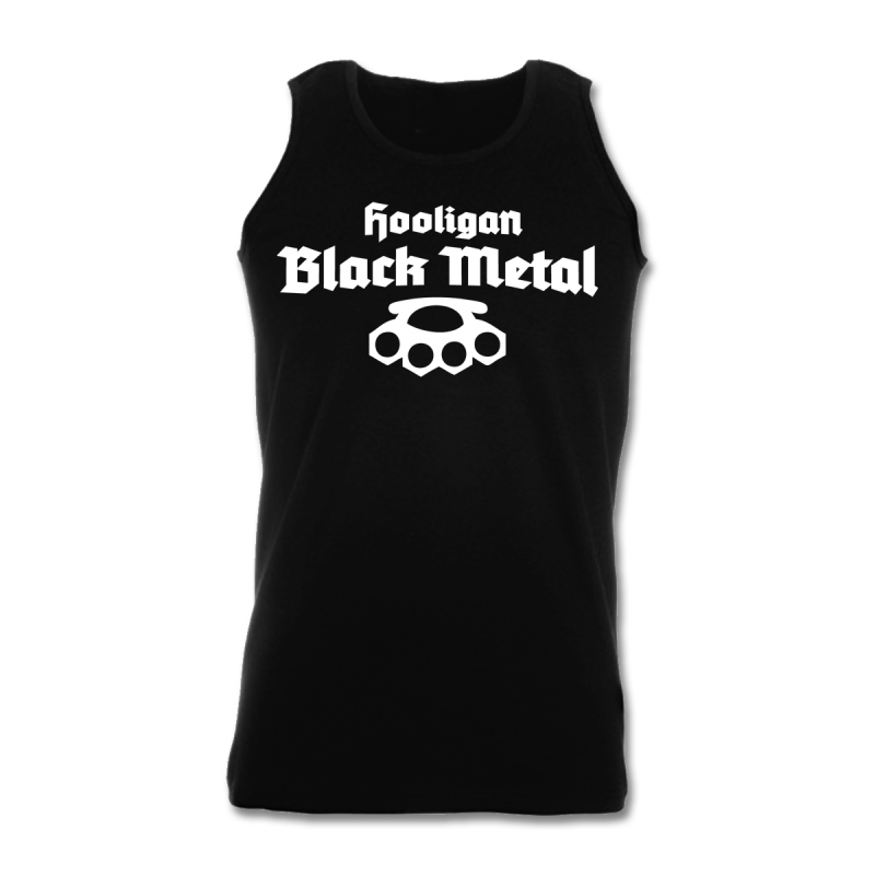 Hooligan Black Metal Athletic T-Shirt