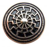 Black Sun 24 Carat Gold plated (Concho)