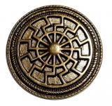 Black Sun Antique brass plated (Concho)