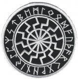 Black Sun in the Rune circle (Patch)