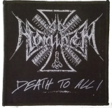 Ad Hominem - Logo Death To All (Patch)