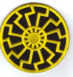 Black Sun (yellow) Patch